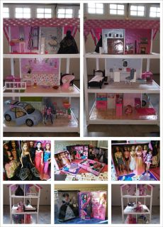 Redesigned for Barbie Dollhouse + Lots of extras!