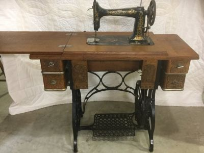 Antique Standard Sewing Machine
