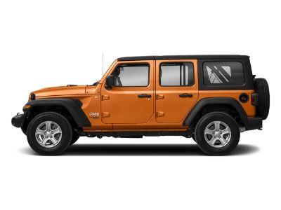 2018 Jeep Wrangler Unlimited Sport S 4WD (Punkn Metallic Clearcoat)