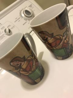 Matching coffee cups. Great gift!