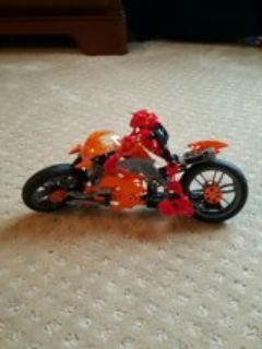 Lego Hero Factory Motorcycle