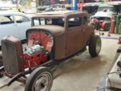 1932 ford 5w coupe project