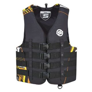 Purchase Sea-Doo Mens Nylon Vibe PFD - Life Jacket Vest - Orange motorcycle in Sauk Centre, Minnesota, United States, for US $54.99