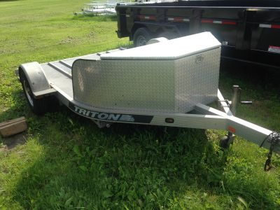 2003 Triton Trailers MCTD Equipment Trailer Sport Utility Trailers Elkhorn, WI