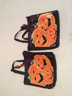 Two Halloween Trick or Treat Bags