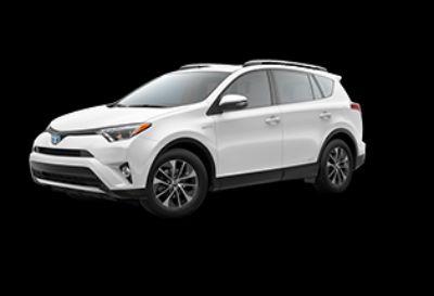 2018 Toyota RAV4 XLE Hybrid AWD-i (Super White)