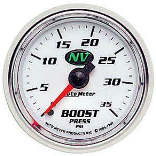 "Auto Meter 6105 Cobalt Mechanical Boost Press Gauge 2-1//16/"" Full Sweep 60 Psi"