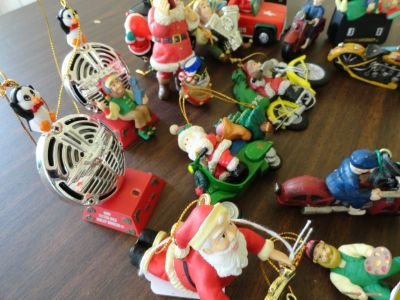 HARLEY DAVIDSON (11 h d Christmas ornaments)