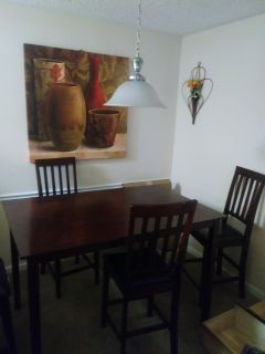Dining Set Table with 4 chairs