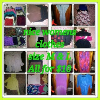 4 bags of nice womens clothes