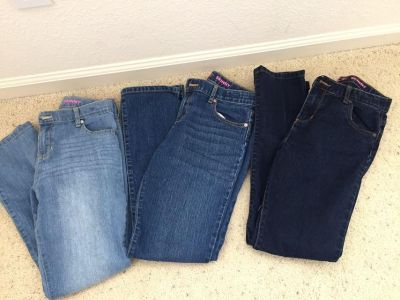 The Children s Place skinny jeans girl size 14 washed but not worn
