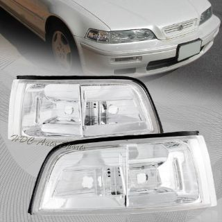 Purchase For 1991-1995 Acura Legend JDM 2 Door Chrome Housing Corner Turn Signal Lights motorcycle in Walnut, California, United States