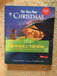 Brand new Hallmark recordable storybook