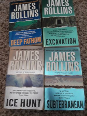 Assorted James Rollins books