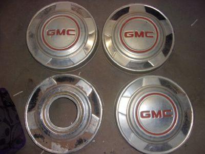 """GMC """"Dog Dish"""" 15"""" Hub Caps!"""