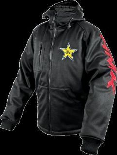 Sell HMK Hooded Tech Shell Jacket Rockstar/Black motorcycle in Holland, Michigan, United States, for US $143.99