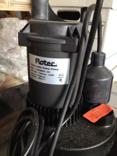 Flotec 1/2HP Submersible Sump Pump