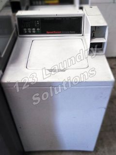 Fair Condition Speed Queen Top Load Washer 120v 60Hz 9.8AMP (White) SWNLC2SP111TW01 Used