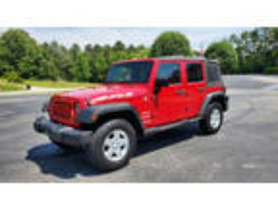 2010 Jeep Wrangler Unlimited For Sale