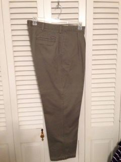 Lee. 40 x 30 light green khaki pants. Pick up at Target in McCalla on Thursdays 5:15 to 6:00pm.