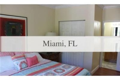 FULLY FURNISHED TOWN HOME IN COCONUT GROVE.