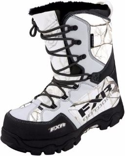 Sell FXR X CROSS BOOT REALTREE AP SIZE MENS 10 / WOMENS 12 EUR 43 13515.03310 motorcycle in North Adams, Massachusetts, United States, for US $169.95