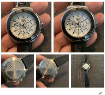 Tag huer formula 1 watch with new battery