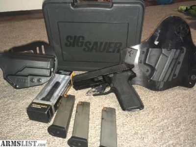 For Sale: Sig P229r (.357 and .40) with extras