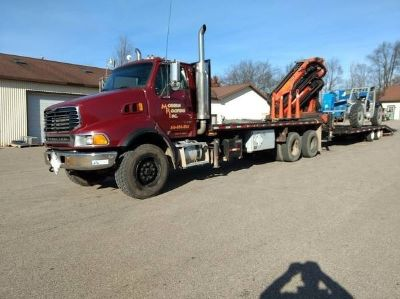 2006 Sterling Flatbed Truck with Crane