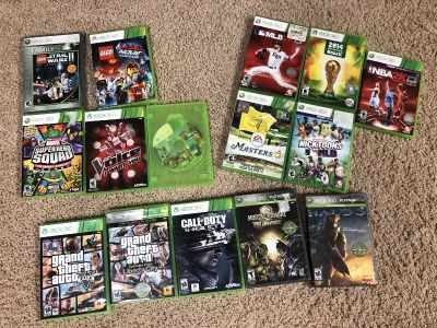 Lot of 15 Xbox games