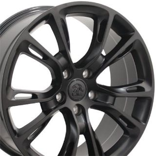 """Find 20"""" Fits Jeep Grand Cherokee SRT8 Wheels Matte Black Set of 4 Rims W1x motorcycle in Sarasota, Florida, United States, for US $809.00"""