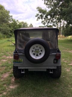 Jeep, 1977 C J 5, four wheel drive.