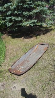Antique Metal Toboggan