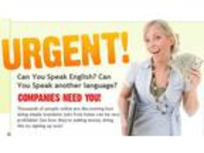 Speak Two Languages? Want a Job?