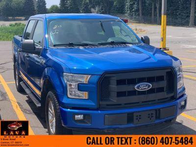 "2015 Ford F-150 4WD SuperCrew 145"" XLT (Blue Jeans Metallic)"