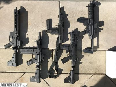 For Sale: 5 PDW's, Royal Flush Pistol Caliber California compliant