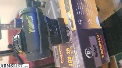 "For Sale: Bushnell TR25 with UTG 1"" riser"