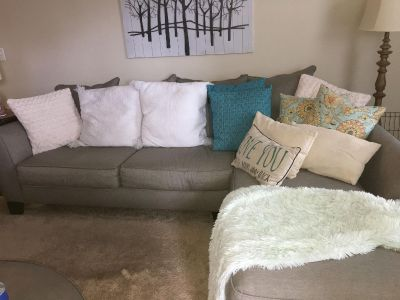 Beautiful sectional. MUST SELL MAKE REASONABLE OFFER