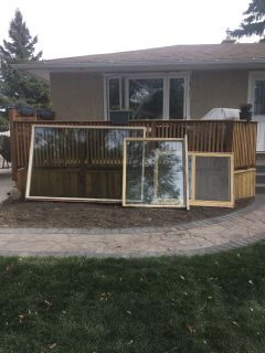 Free windows for pick up