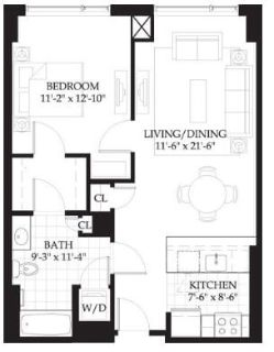 $8580 1 apartment in Beacon Hill