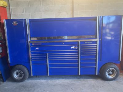 Snap on Snapon Snap-on pit box TUV Royal Blue