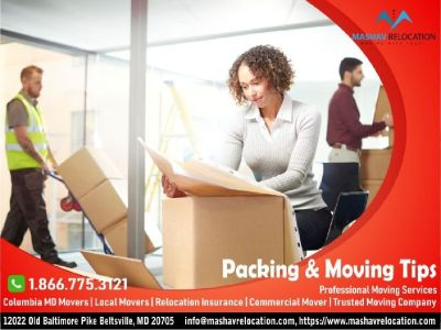 Packing & Moving Tips Maryland