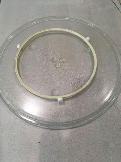 Microwave plate for large microwave (16 1/2 diameter)