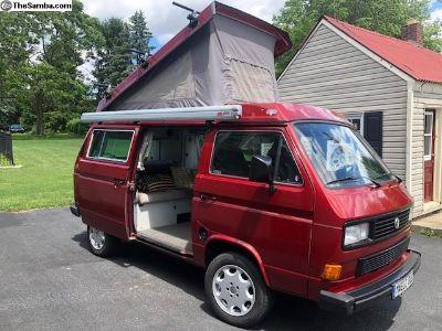 1987 VW Westfalia Camper For Sale (Bostig Conv)