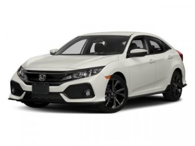 2018 Honda CIVIC HATCHBACK Sport (Polished Metal Metallic)
