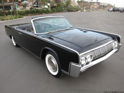 1964 Lincoln Continental Black