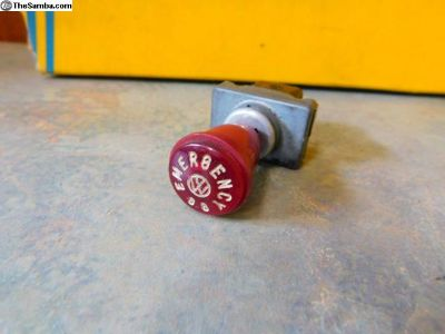 1966 Emergency 88 Emercency Hazard Switch and Knob