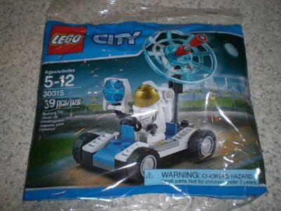 Lego #30315 City Space Utility Vehicle polybag NEW