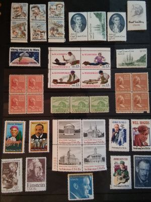 Influential People and Things stamp collection