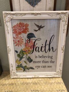 Beautiful picture and frame